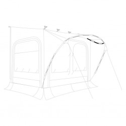 Tent Poles Lower Arch, ΓΈ...