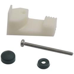 Fixing Kit for Cramer Hobs and Sinks, EK 2000, Enamelled, 4 Pcs.