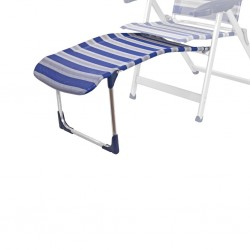 Leg Rest R/215-M Grey/Blue