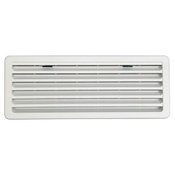 Ventilation Grille for Thetford Refrigerators, Light Grey