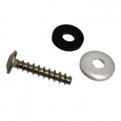 Screw, Washer, Rubber Washer