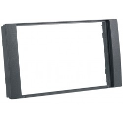 Double DIN mounting blind for Ford Transit