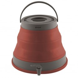 Collaps Water Container Terracotta