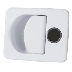Doorframe Lock Kubus White