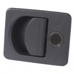 Storage Room Lock Kubus Black