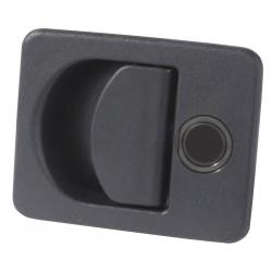 Storage Room Lock Kubus Black
