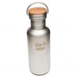Bottle M with Bamboo Lid
