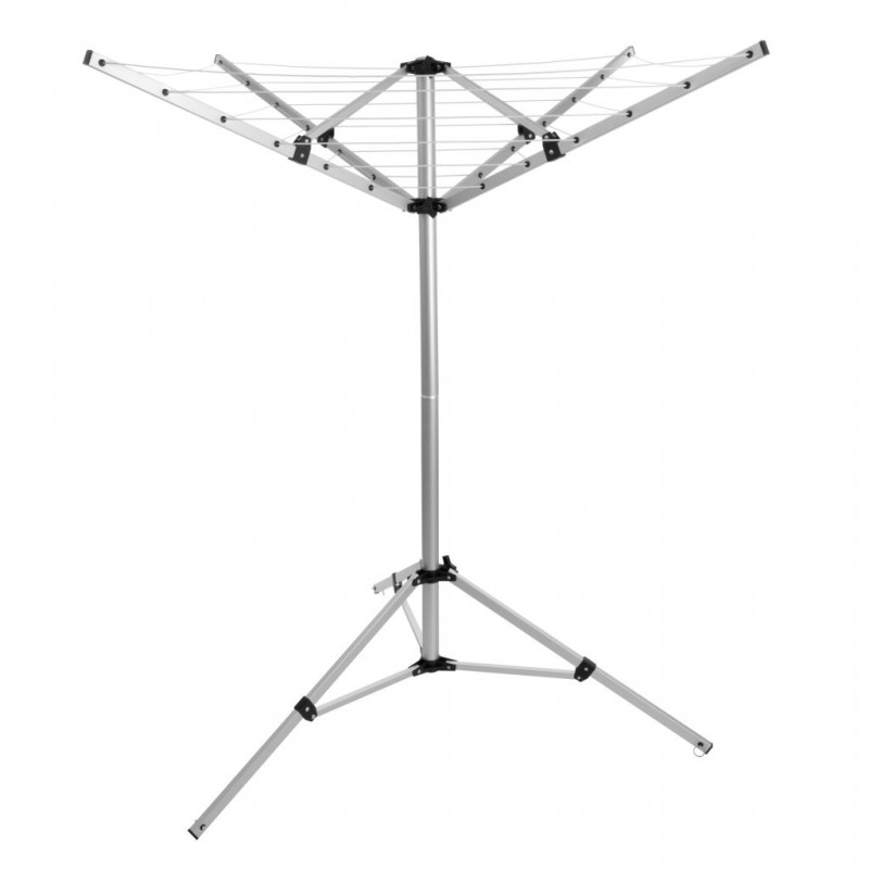 Portable rotary airer can you have screens with french doors?