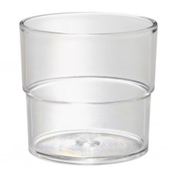 Tumbler SAN 230 ml, Crystal Clear