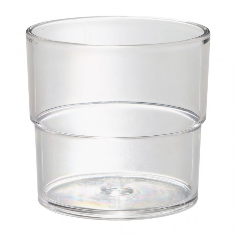 Tumbler SAN 230 ml, Crystal Clear