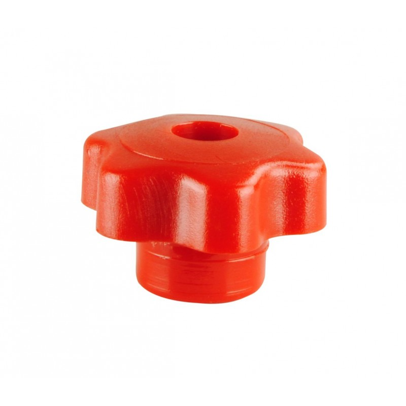 Handwheel Red M6 x 60