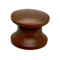 Press Button Brown