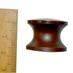 Press Button Brown