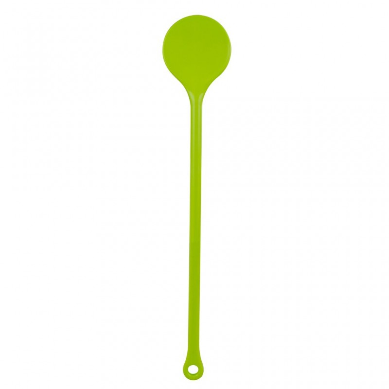 Round Spoon Apple Green