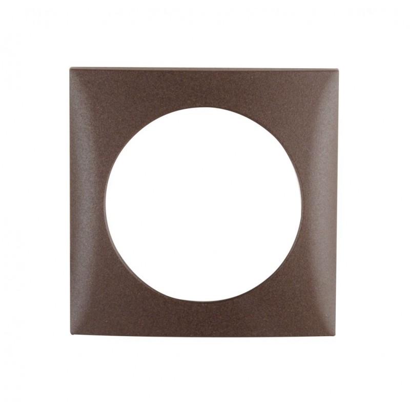 Integro Flow Frame Single Brown Matt
