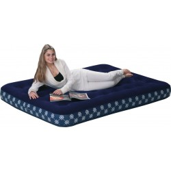 Airbed with Pump, 191 x 137 cm