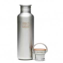 Bottle L with Bamboo Lid