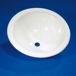 Round Sink Trough White 300 mm