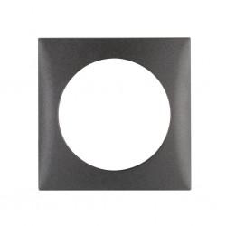Integro Flow Frame Single Anthracite Matt