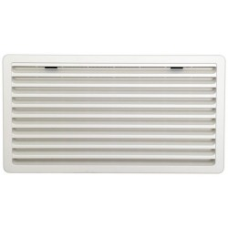 Ventilation Grille for Thetford Refrigerators, White, Large