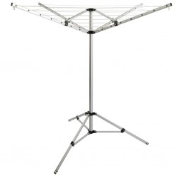 Rotary Clothes Dryer with Stand and 4 Multi-Functional Rings