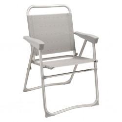 Camping Chair Salina Silver