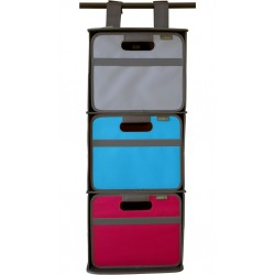 triple cabinet organiser for meori folding boxes, size S