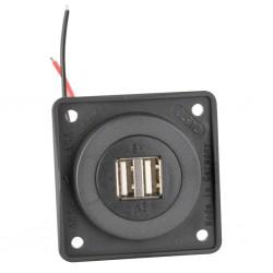 Integro Twin USB Charging Socket