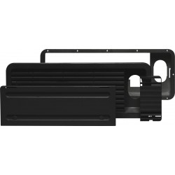 Dometic ventilation grille, set LS 100, black