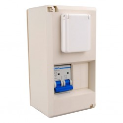 Fusebox SK 2 with Schuko Socket