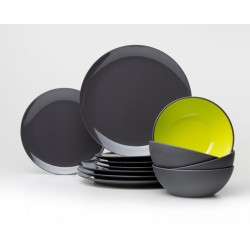 GreyLine Tableware-Set Lemon 12 Pieces