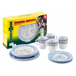 Tableware Set Odyssey, 16 Parts