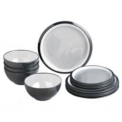 Tableware Set 12 Pieces Granyte