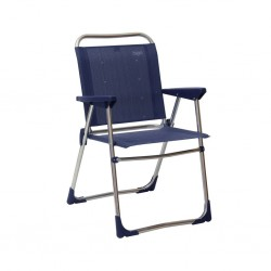 Folding Chair Low Dark Blue