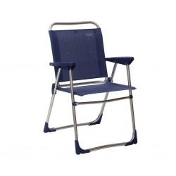 Folding Chair Low Dark Blue