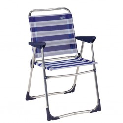 Folding Chair Low Blue-Grey