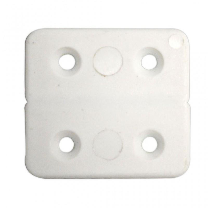 PVC Hinge White