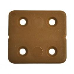 PVC Hinge Brown