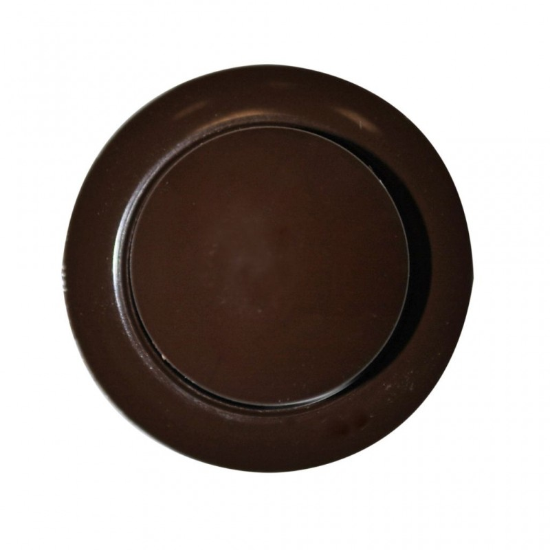 Push Button Brown