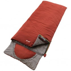Rectangular Sleeping Bag Contour Red