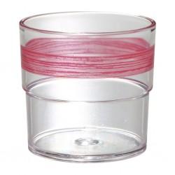 Tumbler SAN 230 ml, Red