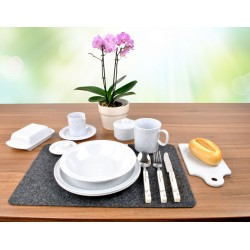 Melamine Tableware Set Granit