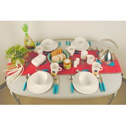 Tableware Set 16 Pieces Edelweiss