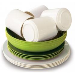 Eco Family Set Bistro Green/White