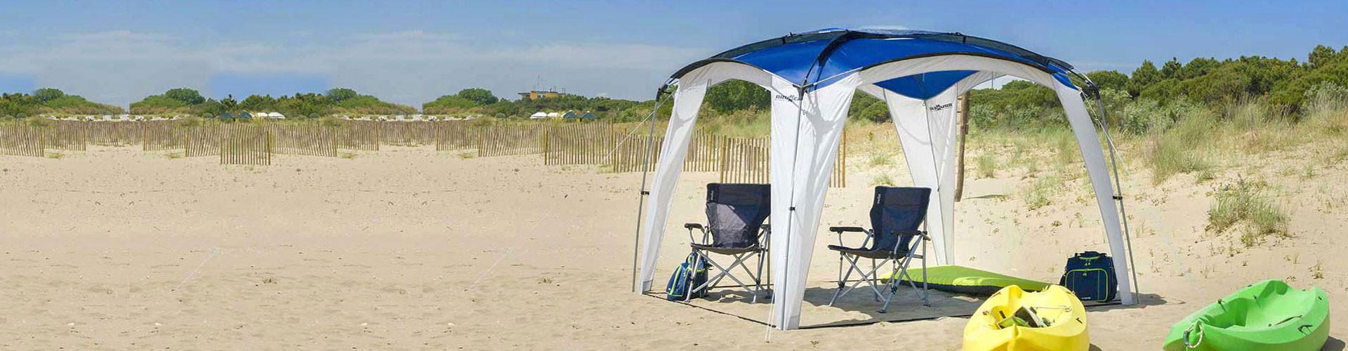 Beach awnings - Kiosks